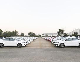 THACO xuất khẩu 120 xe du lịch KIA sang Myanmar