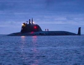 """Nga """"trình làng"""" siêu tàu ngầm hạt nhân"""