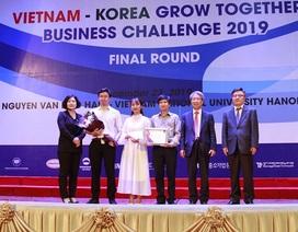 Lộ diện đội thắng cuộc thi khởi nghiệp Vietnam – Korea