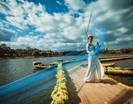 Lụa Bảo Lộc và khúc hoan ca bên Hồ Xuân Hương Đà Lạt