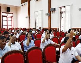 Hà Tĩnh: Nghỉ việc sớm, nhiều cán bộ và công chức xã nhận hơn 500 triệu đồng