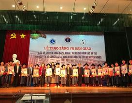 """19 bác sĩ trẻ các chuyên ngành """"nóng"""" về 13 huyện nghèo công tác"""