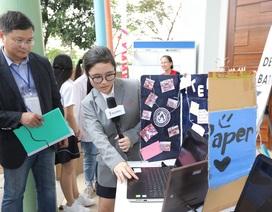 Ngạc nhiên với nhiều sản phẩm xuất sắc của học sinh tạicuộc thi Sáng tạo số - WeTech