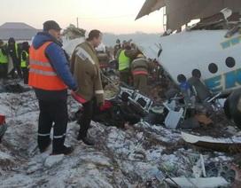 Máy bay chở 100 người rơi tại Kazakhstan