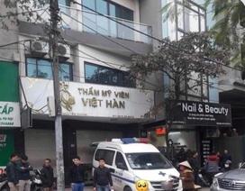 Hà Nội: Nam trung niên tử vong khi hút mỡ bụng tại thẩm mỹ viện