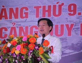 Cảng Quy Nhơn lập kỷ lục mới sau khi về sở hữu nhà nước