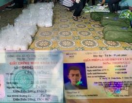 Truy nã đối tượng vứt lại gần 250 kg ma túy đá rồi bỏ trốn