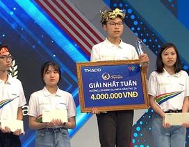 Nam sinh chuyên Lê Hồng Phong vô địch cuộc thi Tuần Olympia