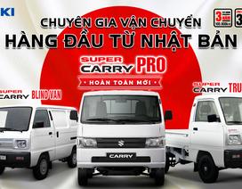 Suzuki dành ưu đãi cho 100 khách hàng đầu tiên mua Super Carry Pro hoàn toàn mới