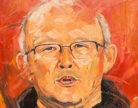Bức tranh vẽ HLV Park Hang Seo được đấu giá gần 300 triệu đồng
