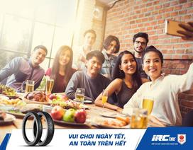 Có lốp xe IRC - Về quê ăn Tết, an toàn trên hết!