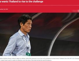 """HLV Nishino: """"Cơ hội dự Olympic 2020 của U23 Thái Lan rất nhỏ"""""""