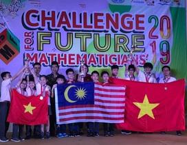 """Việt Nam đoạt 10 HCV cuộc thi """"Thử thách nhà Toán học tương lai"""" 2019"""