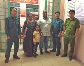 Công an Đà Nẵng giúp cháu bé Ấn Độ đi lạc tìm người thân