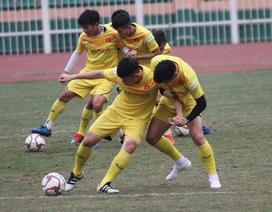 """U23 Việt Nam """"luyện công"""" chờ đấu thể lực với UAE, Jordan, Triều Tiên"""