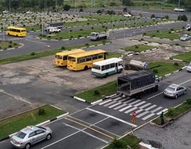 Từ 1/1/2020: Tăng độ khó cho việc sát hạch giấy phép lái xe