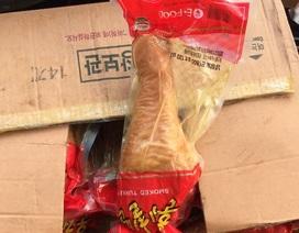 Quản lý thị trường vào cuộc, chặn đứng 25 tấn đùi gà Hàn Quốc thối sắp ra thị trường