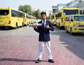 UAE: Học sinh lớp 11 chế tạo thiết bị giảm thiểu và giám sát khí thải xe cộ