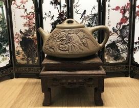 Chơi Tết sang, dân sành điệu Hà Nội mua ấm cổ tử sa 90 triệu đồng pha trà