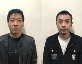 Giữ người trái phép, 2 đối tượng người Trung Quốc bị bắt