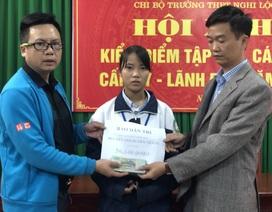Bạn đọc giúp nữ sinh nghèo hơn 87 triệu đồng đón Tết