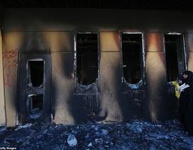 Đại sứ quán Mỹ ở Iraq tan hoang sau vụ tấn công của người biểu tình