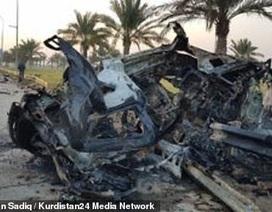 Mỹ bị nghi phóng 4 rocket vào đoàn xe của tướng Iran