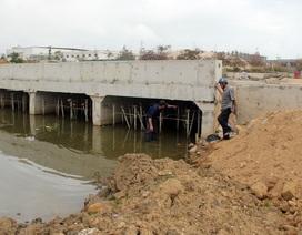 """Phú Yên: Liên công trình gây ngập úng, nguy cơ mất """"chén cơm"""" của hàng trăm hộ dân"""