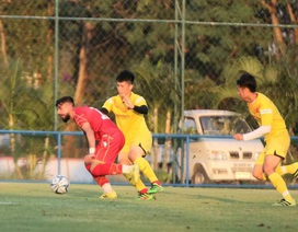 Đình Trọng bất ngờ đá chính, U23 Việt Nam thua U23 Bahrain