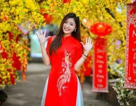 Á khôi Tài sắc Việt Nam rạng ngời chào đón mùa Xuân