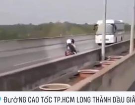 Gần 5.300 trường hợp xe máy chạy vào cao tốc TPHCM - Long Thành năm 2019