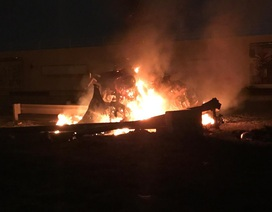 Sân bay Iraq gần căn cứ Mỹ tê liệt vì bị nã rocket