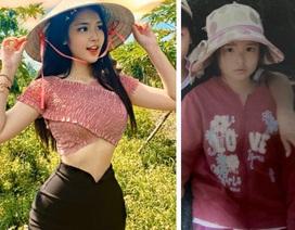 Nữ sinh lai Việt - Trung xinh đẹp, sở hữu vòng eo 56cm