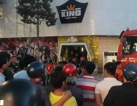 Sập trong vũ trường King Night Club, 1 người tử vong, 6 người bị thương