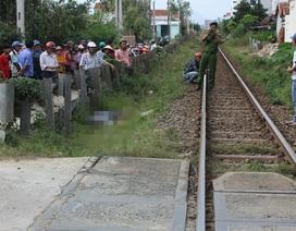 Băng qua đường ngang không gác chắn, người đàn ông bị tàu hỏa tông tử vong