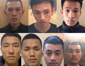 Hà Nội: Triệt phá ổ nhóm tín dụng đen tàng trữ vũ khí quân dụng
