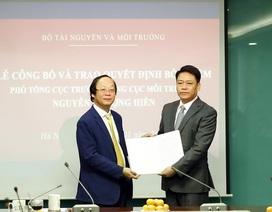 Ông Nguyễn Thượng Hiền làm Phó Tổng cục trưởng Tổng cục Môi trường