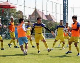 Ba tuyển thủ U23 Việt Nam báo tin vui với HLV Park Hang Seo