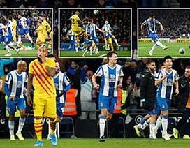De Jong nhận thẻ đỏ, Barcelona bị Real Madrid cân bằng về điểm số