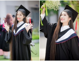 Nữ sinh ĐH Văn hóa nuôi mái tóc dài hơn 1 mét trong suốt 14 năm