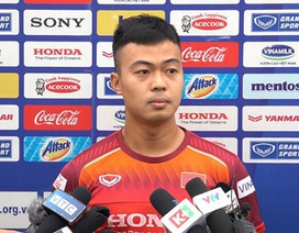 Thanh Thịnh khao khát được đá trận ra quân gặp U23 UAE