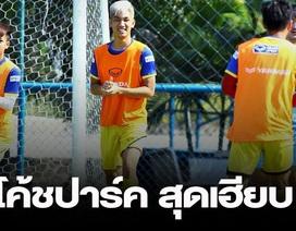 Báo Thái Lan bất ngờ khi thầy Park cho U23 Việt Nam đội nắng tập luyện