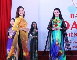 Nhan sắc nữ sinh tại vòng Bán kết miền bắc Hoa khôi Sinh viên Việt Nam