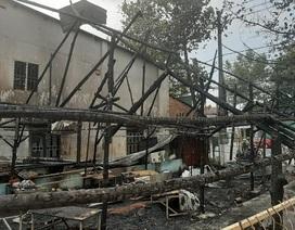 Cháy trụ điện lan sang quán nhậu, 6 người may mắn thoát nạn