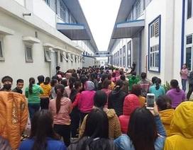 Ninh Bình: Hơn 1.000 công nhân làm việc lại sau khi đình công đòi thưởng Tết