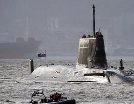 """Tàu ngầm hạt nhân Anh """"trong tầm tấn công Iran"""""""