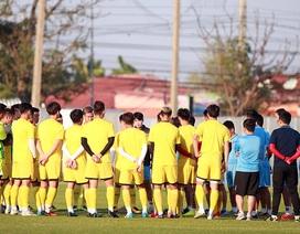 U23 Việt Nam đóng quân cùng U23 Triều Tiên, thiết quân luật trước giải châu Á