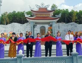 Thủ tướng dự lễ khánh thành đền thờ liệt sĩ Núi Quế - Anh Linh Đài