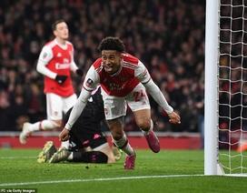 Được trọng tài thiên vị, Arsenal chật vật đi tiếp ở FA Cup
