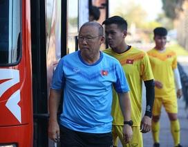 U23 Việt Nam bất ngờ được tập sân chính trước trận gặp U23 UAE